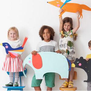 Laboratorio di carta, corso online per bambini