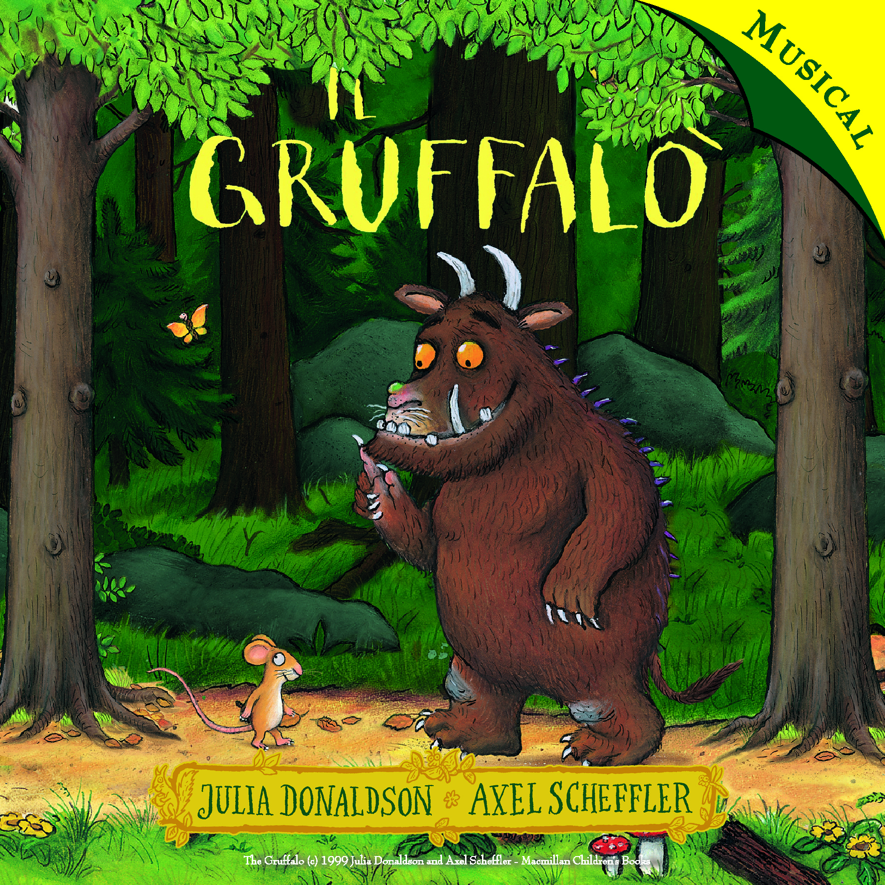 Il gruffalò cd musical