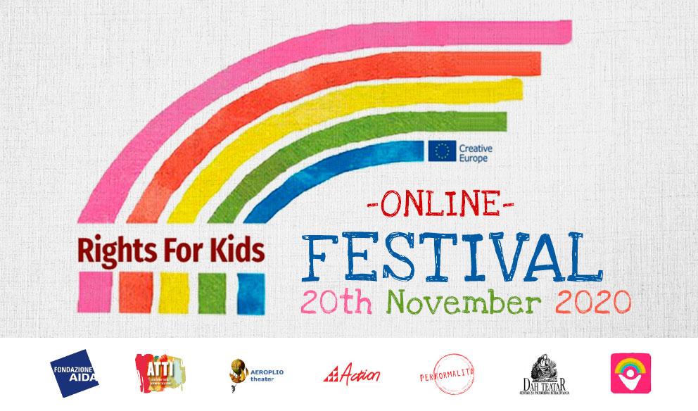 Rights 4 kids, il 20 novembre, giornata Mondiale dei diritti dell'infanzia