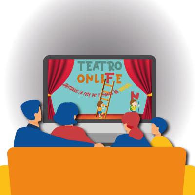 Teatro OnliFe: il teatro in streaming per bambini