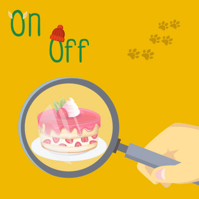 On, Off and the mystery of the missing cake