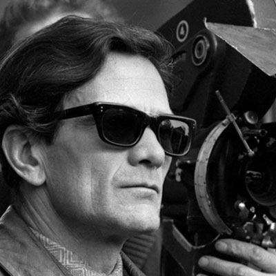 The cinema and the faces of Pier Paolo Pasolini
