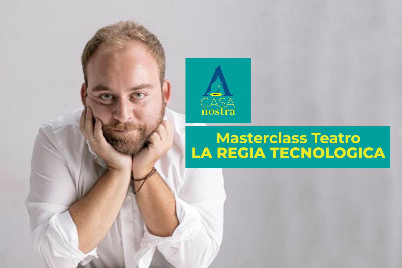 La regia tecnologica Manuel Renga A Casa Nostra