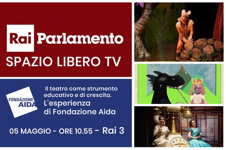 Spazio Libero Rai 3 Puntata dedicata a Fondazione Aida