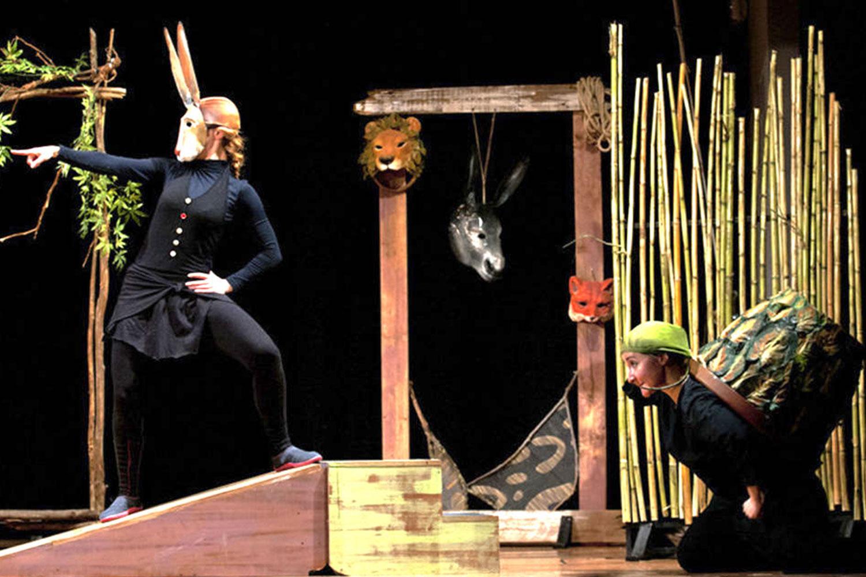 Una foto dello spettacolo Le favole della saggezza de I Teatrini