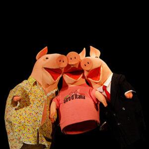 I tre porcellini Spettacolo Musicale Teatro Ragazzi